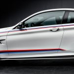 2015 BMW M4 with M Performance accessories fender
