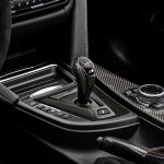 2015 BMW M4 with M Performance accessories gear selector