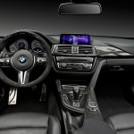 2015 BMW M4 with M Performance accessories interior