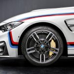 2015 BMW M4 with M Performance accessories wheel