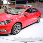 2015 Chevrolet Cruze front quarter at Guangzhou Auto Show 2014