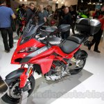 2015 Ducati Multistrada 1200 front three quarters at EICMA 2014