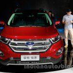 2015 Ford Edge LWB front at 2014 Guangzhou Auto Show