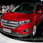 2015 Ford Edge LWB front quarters at 2014 Guangzhou Auto Show
