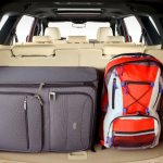 2015 Ford Endeavour boot with all seats
