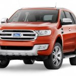 2015 Ford Endeavour front quarter