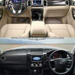 2015 Ford Endeavour vs older model interior