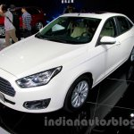 2015 Ford Escort front quarter at Guangzhou Auto Show 2014