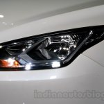 2015 Ford Escort headlight at Guangzhou Auto Show 2014