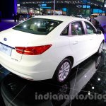 2015 Ford Escort rear quarter at Guangzhou Auto Show 2014