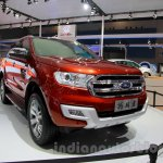 2015 Ford Everest front quarter at 2014 Guangzhou Auto Show