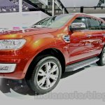 2015 Ford Everest front quarters at 2014 Guangzhou Auto Show