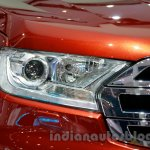 2015 Ford Everest headlight at 2014 Guangzhou Auto Show