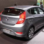 2015 Hyundai Accent rear three quarter at the 2014 Los Angeles Auto Show