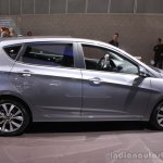 2015 Hyundai Accent side at the 2014 Los Angeles Auto Show