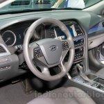 2015 Hyundai Sonata dash at 2014 Guangzhou Motor Show