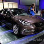 2015 Hyundai Sonata front quarter at 2014 Guangzhou Motor Show