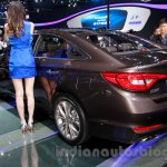 2015 Hyundai Sonata rear quarter at 2014 Guangzhou Motor Show