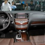 2015 Infiniti QX50 interior at the Guangzhou Auto Show 2014