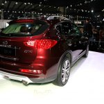 2015 Infiniti QX50 rear quarter at the Guangzhou Auto Show 2014