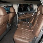 2015 Infiniti QX50 rear seat at the Guangzhou Auto Show 2014