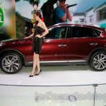 2015 Infiniti QX50 side at the Guangzhou Auto Show 2014