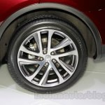 2015 Infiniti QX50 wheel at the Guangzhou Auto Show 2014