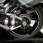 2015 Kawasaki 1400 GTR rear wheel at EICMA 2014