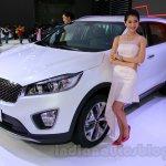 2015 Kia Sorento L front quarters at Guangzhou Auto Show 2014