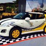 2015 Maruti Swift facelift accessorized side