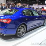 2015 Maserati Ghibli rear three quarter view at the 2014 Los Angeles Auto Show