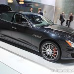 2015 Maserati Quattroporte GTS front three quarters at the 2014 Los Angeles Auto Show