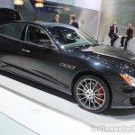 2015 Maserati Quattroporte GTS front three quarters at the 2014 Los Angeles Auto Show