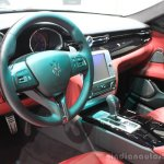 2015 Maserati Quattroporte GTS interior at the 2014 Los Angeles Auto Show