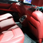 2015 Maserati Quattroporte GTS rear seat at the 2014 Los Angeles Auto Show