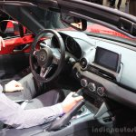 2015 Mazda MX-5 dashboard at the 2014 Los Angeles Auto Show