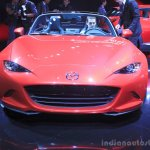 2015 Mazda MX-5 front at the 2014 Los Angeles Auto Show