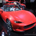 2015 Mazda MX-5 front three quarters at the 2014 Los Angeles Auto Show