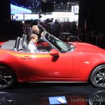 2015 Mazda MX-5 side at the 2014 Los Angeles Auto Show