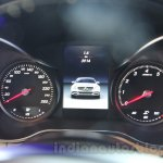 2015 Mercedes C Class cluster launch
