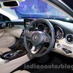 2015 Mercedes C Class dash launch