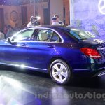2015 Mercedes C Class rear quarter launch