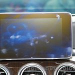 2015 Mercedes C Class screen launch