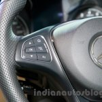 2015 Mercedes C Class steering controls launch