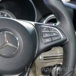 2015 Mercedes C Class steering wheel launch