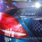 2015 Mercedes C Class taillight launch