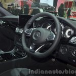 2015 Mercedes CLS steering wheel at the 2014 Thailand International Motor Expo