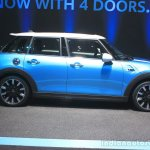 2015 Mini Cooper 5-door Hardtop side at the 2014 Los Angeles Auto Show