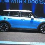 2015 Mini Cooper 5-door Hardtop side at the 2014 Los Angeles Auto Show
