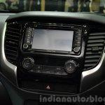 2015 Mitsubishi Triton center console at the 2014 Thailand International Motor Expo